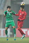 Iraq vs Vietnam during the AFC U23 Championship China 2018 Quarter-finals match at Changshu Stadium on 20 January 2018, in Changshu, China. Photo by Yu Chun Christopher Wong / Power Sport Images