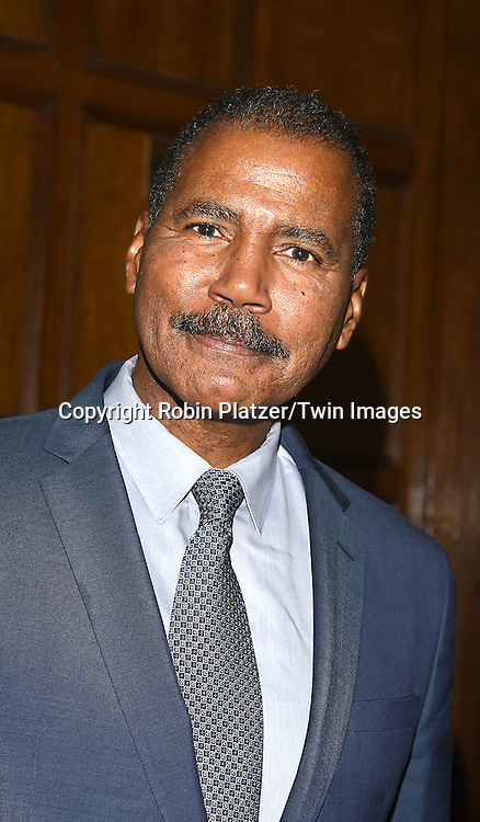 Bill Whitaker attends the Library of American Broadcasting  Annual Giants of Broadcasting Luncheon on October 6, 2016 at Gotham Hall in New York City. <br /> <br /> photo by Robin Platzer/Twin Images<br />  <br /> phone number 212-935-0770