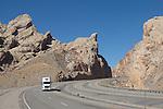 Utah, geologic formations, US highway, I-70, San Rafael Swell, March, USA,