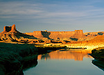 Green River along the White Rim Road, Canyonlands National Park, Utah,
