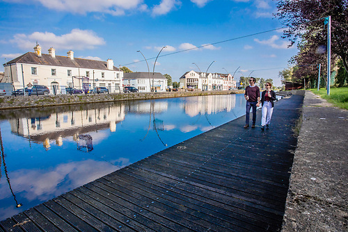 Kilcock Harbour in Kildare on the Royal Canal Greenway