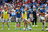 Marko Grujić of Hertha Berlin in the warm up during the pre season friendly match between Crystal Palace and Hertha BSC at Selhurst Park, London, England on 3 August 2019. Photo by Carlton Myrie / PRiME Media Images.