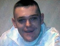 "Pictured: Handout picture of Adam McGuire<br /> Re: Drink-driver Nicholas Darkes has been jailed for six years for causing a crash which killed his friend Adam McGuire.<br /> 26 year old Darkes, from Neath, south Wales, had previously admitted causing his friend's death by careless driving while over the limit.<br /> 36 year old Mr McGuire, 36, died at the scene and Darkes' father Neil suffered fractures to his neck and ribs.<br /> Darkes, who was a learner driver, was two-and-a-half times the drink-drive limit, Cardiff Crown Court heard.<br /> He was believed to have been driving between 60mph and 70mph when he crashed in the  Caerau area of Maesteg, on 10 January 2018.<br /> He was seen by witnesses climb out of a car window and flee the scene on foot, leaving his passengers behind.<br /> Ryan McGuire, the brother of one of the deceased told the court he thought Darkes was ""a coward""."