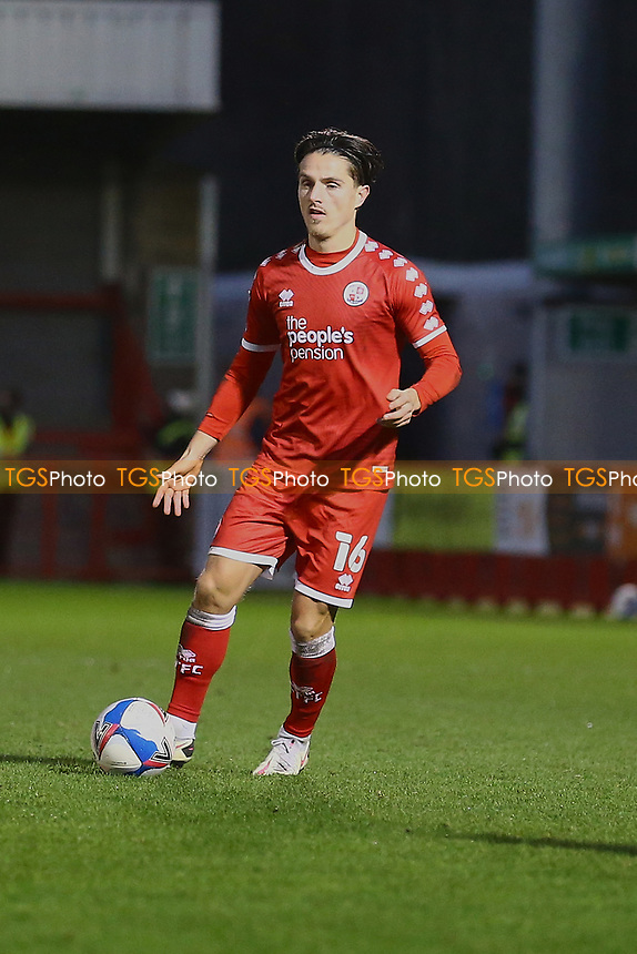 Tom Nichols of Crawley Town during Crawley Town vs Barrow, Sky Bet EFL League 2 Football at Broadfield Stadium on 12th December 2020
