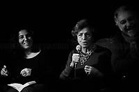 "Luciana Castellina, Journalist, Politician & Author (Here with the curators of the book ""Io e il Che"", Nadia Angelucci e Gianni Tarquini).<br /> <br /> For more information please click here: https://g.co/kgs/44FvdZ"