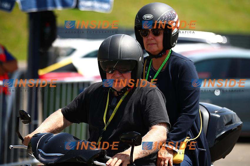 Norbert Vettel father of Sebastian Vettel, and the mother of Sebastian; Formula 1 World championship 2021, Styrian GP 2021, 24 June 2021