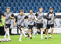 Matthias Ginter (Deutschland Germany), Joshua Kimmich (Deutschland, Germany), Ilkay Guendogan (Deutschland, Germany), Toni Kroos (Deutschland Germany), Thomas Mueller (Deutschland Germany) - 09.09.2018: Deutschland vs. Peru, Wirsol Arena Sinsheim, Freundschaftsspiel DISCLAIMER: DFB regulations prohibit any use of photographs as image sequences and/or quasi-video.