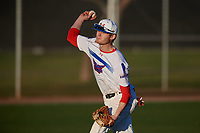 Jackie Zebron during the Under Armour All-America Tournament powered by Baseball Factory on January 18, 2020 at Sloan Park in Mesa, Arizona.  (Mike Janes/Four Seam Images)