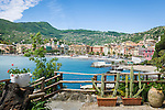 Italy, Liguria, Riviera Ligure di Levante, Santa Margherita Ligure: renowned tourist resort at Golfo Tigullio, overview | Italien, Ligurien, Riviera Ligure di Levante, Santa Margherita Ligure am Golf von Tigullien: beliebter Badeort, auch die Perle Tigulliens genannt, Uebersicht