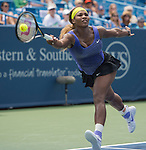 Serena Williams (USA) defeats Flavia Pannetta (ITA) 6-2, 6-2