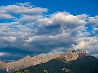 Panorama bei Parkplatz Töll, Oberplars, Algund bei Meran, Region Südtirol-BozenItalien, Europa<br /> Alpine panorama near parking Töll, Oberplars, Lagundo near Merano, Region South Tyrol-Bolzano, Italy, Europe