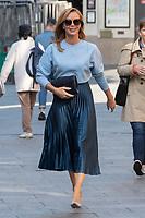 London, UK- 10 September 2020<br /> Amanda Holden departing Global Radio Studios, London, UK<br /> CAP/JOR<br /> ©JOR/Capital Pictures