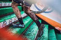running up<br /> <br /> Women's Elite Race<br /> Belgian National CX Championships<br /> Meulebeke 2021<br /> <br /> ©kramon