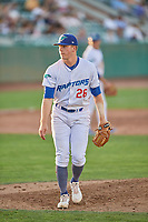 Ogden Raptors starting pitcher Kevin Malisheski (28) during the game against the Rocky Mountain Vibes at Lindquist Field on July 6, 2019 in Ogden, Utah. The Vibes defeated the Raptors 7-2. (Stephen Smith/Four Seam Images)
