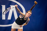 Amstelveen, Netherlands, 16  December, 2020, National Tennis Center, NTC, NK Indoor, National  Indoor Tennis Championships, :  Stephanie Visscher (NED) <br /> Photo: Henk Koster/tennisimages.com