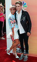 LOS ANGELES, CA, USA - MAY 01: Chelsea Kane, Brian Logan Dales at the iHeartRadio Music Awards 2014 held at The Shrine Auditorium on May 1, 2014 in Los Angeles, California, United States. (Photo by Celebrity Monitor)