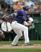 Texas Rangers OF Josh Hamilton against the Seattle Mariners on May 14th, 2008 at Texas Rangers Ball Park in Arlington, Texas. Photo by Andrew Woolley .