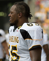 08 September 2007: Grambling defensive lineman Melvin Matthew..The Pitt Panthers defeated the Grambling State Tigers 34-10 on September 08, 2007 at Heinz Field, Pittsburgh, Pennsylvania.