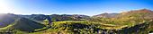 La vallée de Thio depuis Nakalé
