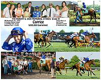 Caprice winning The Robert G. Dick Memorial Breeders' Cup (Gr. 3) at Delaware Park on 7/18/09