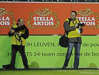 Belgium - Sweden : Andre Verhoeven en Paul Dijkmans.foto DAVID CATRY / Vrouwenteam.be
