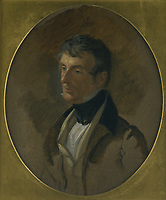 BNPS.co.uk (01202) 558833<br /> Pic: NT/RichardPink/BNPS<br /> <br /> Pictured: William John Bankes (1786-1855) by Sir George Hayter (1792-1871). William was a Collector and traveller, rebuilt Kingston Lacy to Sir Charles Barry's designs 1835-40.<br /> <br /> Slow and steady wins the race...<br /> <br /> A set of bronze tortoises stolen from a country mansion have finally been returned... 29 years later.<br /> <br /> The bronze sculptures based on the wealthy 19th century owner's pet were stolen from Kingston Lacy in Dorset in 1992 and reported to the police but never found until a savvy historian spotted one up for auction recently.<br /> <br /> Following the trail, the National Trust traced the tortoise to an antiques dealer, who had acquired the set from a scrap metal dealer, completely unaware of their history.<br /> <br /> The four missing sculptures have finally been returned to Kingston Lacy and gone on display.