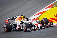 8th October 2021; Formula 1 Turkish Grand Prix 2021 free practise at the Istanbul Park Circuit, Istanbul;  VERSTAPPEN Max nld, Red Bull Racing Honda RB16B