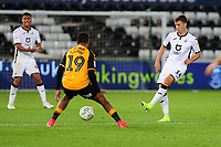 Tom Carroll of Swansea City in action during the Carabao Cup Second Round match between Swansea City and Cambridge United at the Liberty Stadium in Swansea, Wales, UK. Wednesday 28, August 2019.