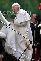 """Vigo di Cadore. Visit """" Santa Giustina Martire"""" in Auronzo.Benedict XVI.July 24./25./27.2007"""