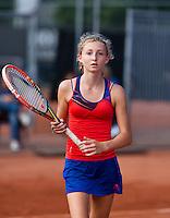 Netherlands, Rotterdam August 05, 2015, Tennis,  National Junior Championships, NJK, TV Victoria,  Emma Goedkoop   Tess Demin<br /> Photo: Tennisimages/Henk Koster