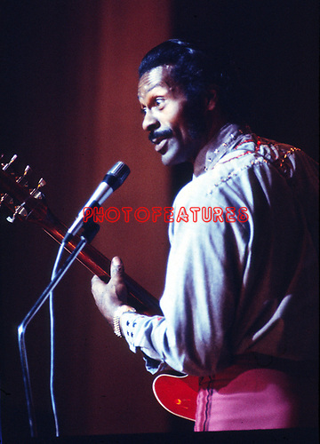 Chuck Berry 1975<br /> <br /> © Chris Walter