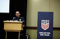 U.S. Soccer Youth Team Meeting, January 4, 2018