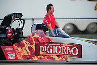 Jul, 9, 2011; Joliet, IL, USA: NHRA top fuel dragster driver Rod Fuller during qualifying for the Route 66 Nationals at Route 66 Raceway. Mandatory Credit: Mark J. Rebilas-