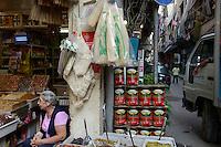 LEBANON, Beirut, armenian quarter Bourj Hammoud, armenian refugees and survivors from the 1915 genocide in the Ottoman Empire today Turkey have settled here in 1920 / LIBANON, Beirut, Bourj Hammoud, ein armenisches Viertel das 1920 von Ueberlebenden und Fluechtlingen des Genozid im Osmanischen Reich bewohnt wurde