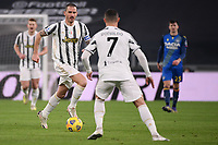 Leonardo Bonucci of Juventus FC in action during the Serie A football match between Juventus FC and Udinese Calcio at Juventus stadium in Torino  (Italy), January, 3rd 2021.  Photo Federico Tardito / Insidefoto