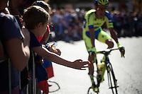 at the start<br /> <br /> stage 21: Alcala de Henares - Madrid (98km)<br /> 2015 Vuelta à Espana