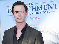 """01 September 2021 - West Hollywood, California - Colin Hanks. FX's """"Impeachment: American Crime Story"""" Premiere held at The Pacific Design Center. Photo Credit: Billy Bennight/AdMedia"""