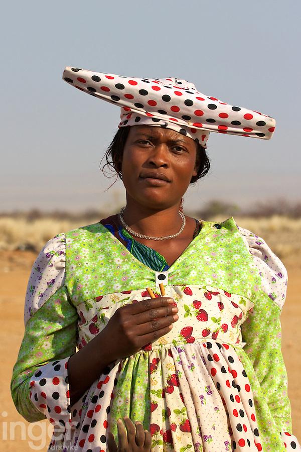 Herrero Woman in Namibia