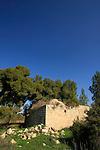 Israel, Shephelah, Sheikh's tomb in Beth Guvrin