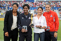 Remembering the 1999 World Cup team.  The LA Sol defeated the Washington Freedom 1-0 at the Maryland Soccerplex, Sunday July 5, 2009.
