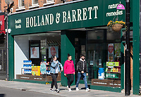 Shoppers in Sidcup, Kent during the Coronavirus (COVID-19) outbreak where travel has been restricted across the country at Sidcup, England on 25 March 2020. Photo by Alan Stanford/PRiME Media Images