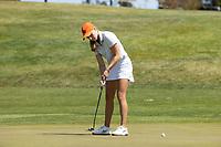STANFORD, CA - APRIL 23: Amanda Minni at Stanford Golf Course on April 23, 2021 in Stanford, California.