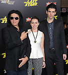 Gene Simmons,Sophie Simmons and Nick Simmons at The Lions Gate World Premiere for The Last Stand at The Grauman's Chinese Theater in Hollywood, California on January 14,2013                                                                   Copyright 2013 Hollywood Press Agency