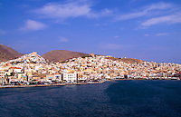 Greek island of Siros, Greece
