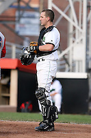 June 25th 2008:  Konrad Thieme of the Jamestown Jammers, Class-A affiliate of the Florida Marlins, during a game at Dwyer Stadium in Batavia, NY.  Photo by:  Mike Janes/Four Seam Images