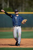 Villanova Wildcats third baseman Kevin Jewitt (28) during a game against the Dartmouth Big Green on February 27, 2016 at South Charlotte Regional Park in Punta Gorda, Florida.  Villanova defeated Dartmouth 14-1.  (Mike Janes/Four Seam Images)