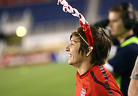 BOCA RATON, FL - DECEMBER 15, 2012: Amy LePeilbet (6) of the USA WNT o during an international friendly match match against China at FAU Stadium, in Boca Raton, Florida, on Saturday, December 15, 2012. USA won 4-1.