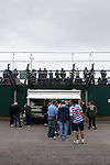 Yeovil Town 0 Queens Park Rangers 1, 21/09/2013. Huish Park, Championship. QPR fans behind the away end. Photo by Paul Thompson.
