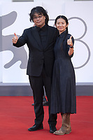 Bong Joon Ho and Chloe Zhao attending the Closing Ceremony Red Carpet as part of the 78th Venice International Film Festival in Venice, Italy on September 11, 2021. <br /> CAP/MPI/IS/PAC<br /> ©PAP/IS/MPI/Capital Pictures
