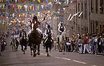 Braw Lads Gathering Galashiels Selkirkshire Scotland Annually June 30th